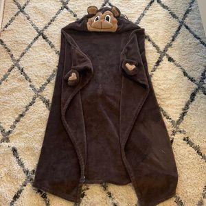 🎁 Bear towel with hood